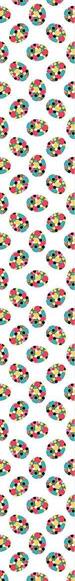 Pattern Wallpaper Easter Eggs With Polka Dots
