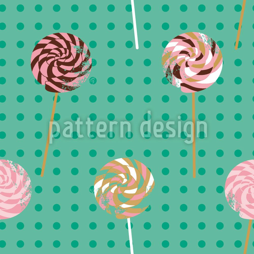 Pattern Wallpaper Lollipop Polkadot
