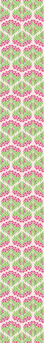 Pattern Wallpaper Flush Flower