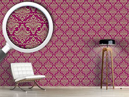 Papier peint design Purple Opulence