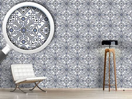 Pattern Wallpaper Medallion
