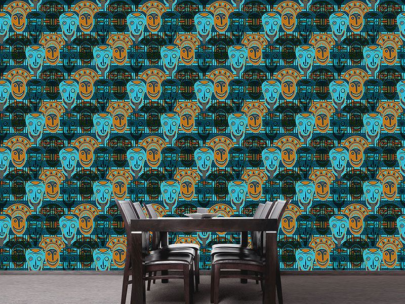 Pattern Wallpaper Popocatepetls Vision
