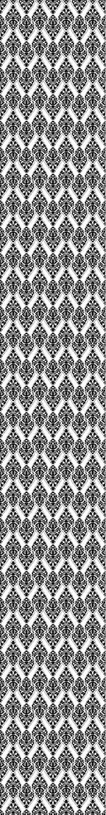 Pattern Wallpaper Black Damask