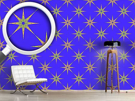 Pattern Wallpaper Star Of The East