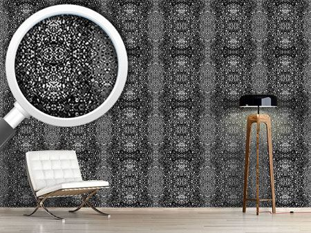 Papier peint design Stained Gray