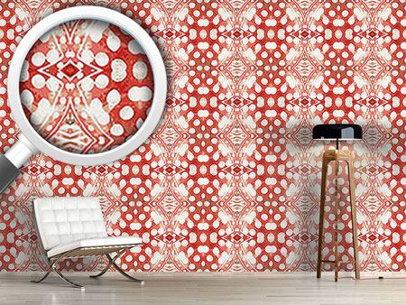 Pattern Wallpaper Happy Orient