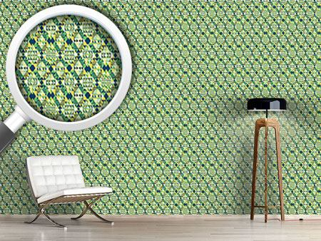 Pattern Wallpaper Triangular