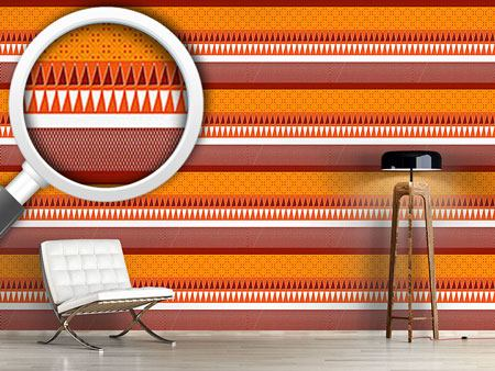Pattern Wallpaper Spicy Ethno Mix