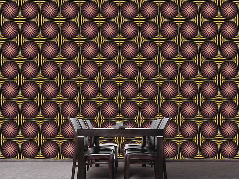 Pattern Wallpaper Praline From Charlies Chocolate Factory