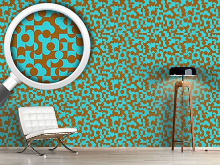Pattern Wallpaper Eulatik Of The Semicircles