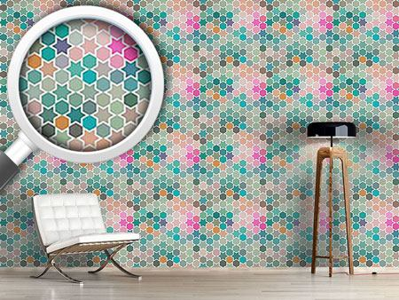 Pattern Wallpaper Star Windows In Bagdad