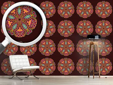 Pattern Wallpaper The Mandala Of The Maharani