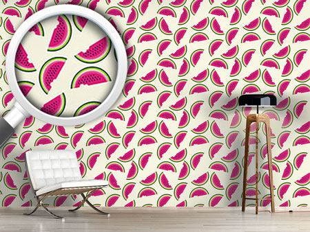 Pattern Wallpaper Melons For Breakfast