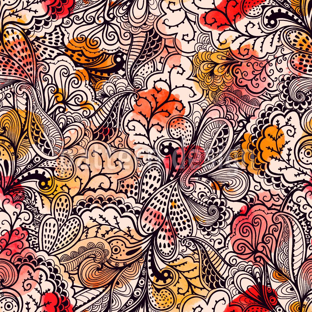 Pattern Wallpaper The Conquest Of Paradise