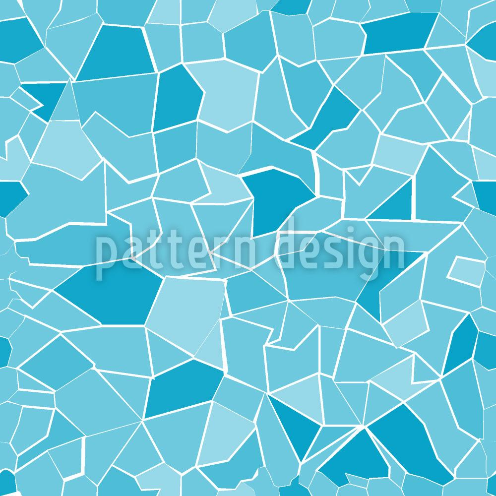Papier peint design Breaking The Ice