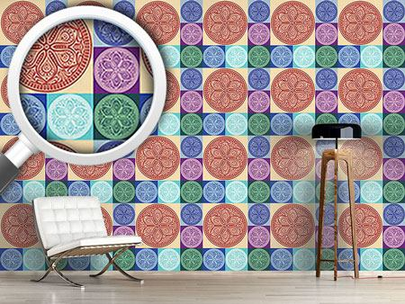 Pattern Wallpaper Mandala Patchwork