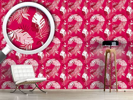 Pattern Wallpaper Honolulu Pink