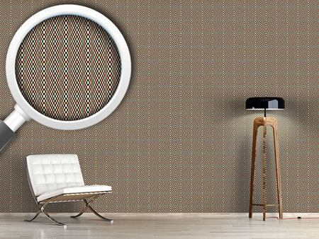 Pattern Wallpaper Ethno Vision