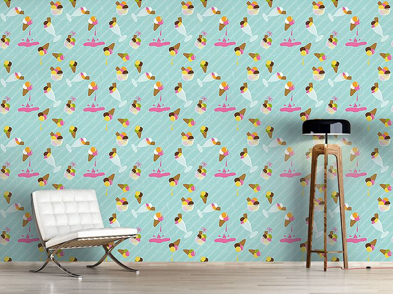 Pattern Wallpaper Gelato Gelato