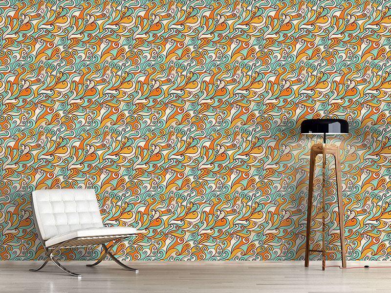 Pattern Wallpaper Ocean Of The Happy Sirens