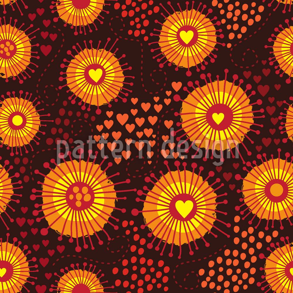 Pattern Wallpaper psychedelic abstract seamless texture