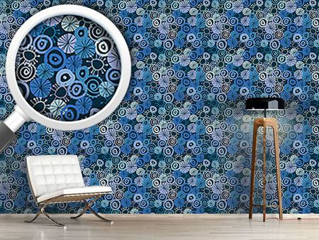 Pattern Wallpaper The Dancing Circles