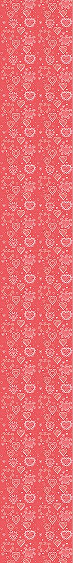Pattern Wallpaper Romance With Hearts