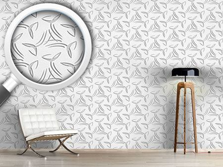 Pattern Wallpaper Calligraphy