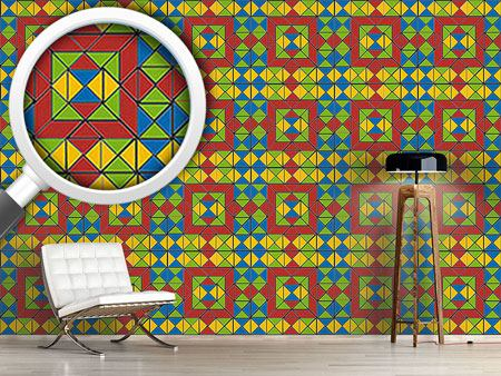 Pattern Wallpaper Tangram