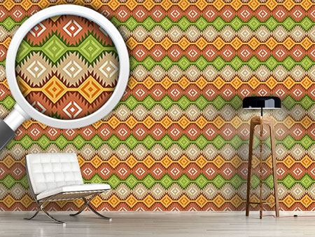 Pattern Wallpaper Ottoman Treasure