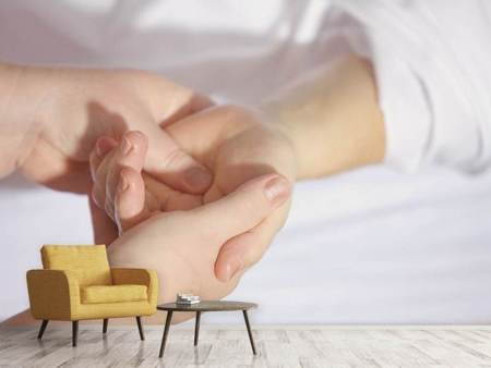 Photo Wallpaper hand massage