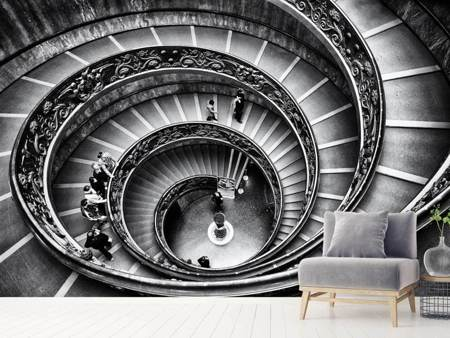 Photo Wallpaper Stairs in the Vatican