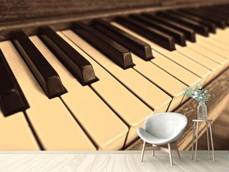 Photo Wallpaper At the piano