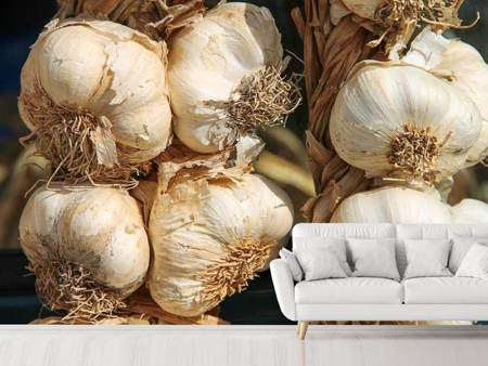 Photo Wallpaper The garlic XL