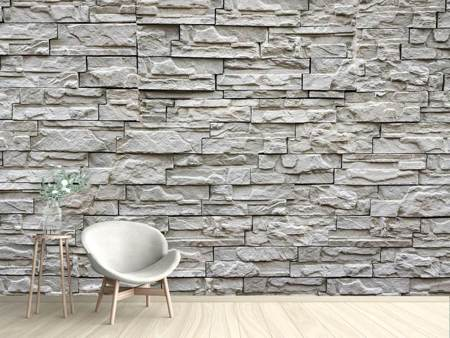 Photo Wallpaper Stone wall design