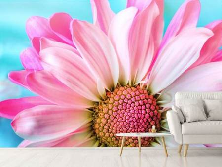 Photo Wallpaper Colored flower