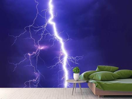 Photo Wallpaper Imposing lightning