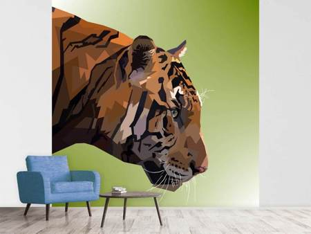 Photo Wallpaper Pop Art Tiger