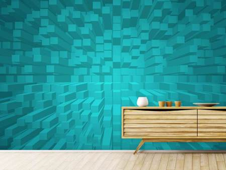 Photo Wallpaper 3D Cubes