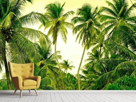 Photo Wallpaper Mural Ready for a vacation