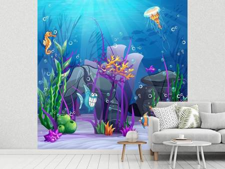Photo Wallpaper Underwater Treasure Hunt